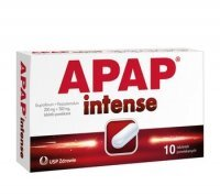 Apap Intense 200mg+500mg *10 tabl.
