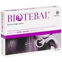 Biotebal 5 mg *30tabl.