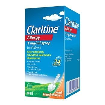 Claritine Allergy syrop 1mg/ml 60ml
