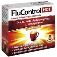 Flucontrol Hot proszek *8 sasz.