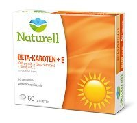 NATURELL Beta-karoten + E *60 tabl.