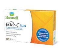 NATURELL Witamina C ESTER-C PLUS *50 tabl.