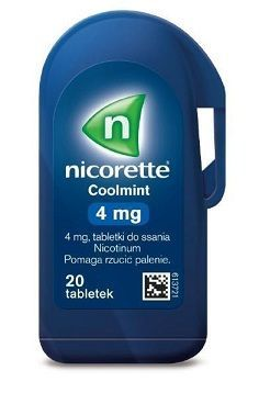 Nicorette Coolmint  4mg *20 tabl.