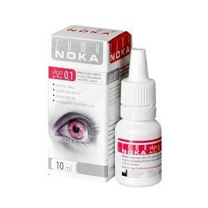 ZUMA NOKA 0,1%  krople do oczu 10 ml